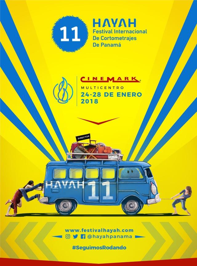 11vo Hayah Festival Internacional de Cortometrajes de Panamá 24-28 Enero, 2018
